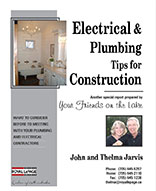 Electrical and plumbing tips for construction